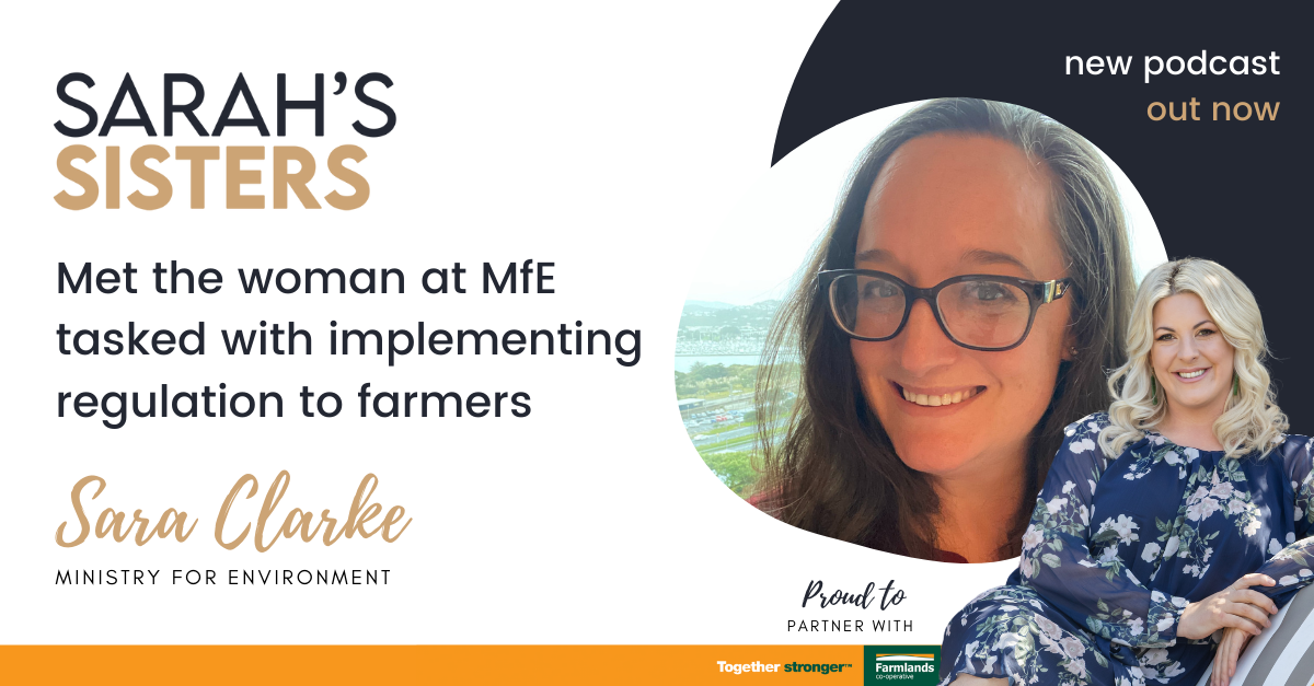 Met the woman at MfE tasked with implementing regulation to farmers