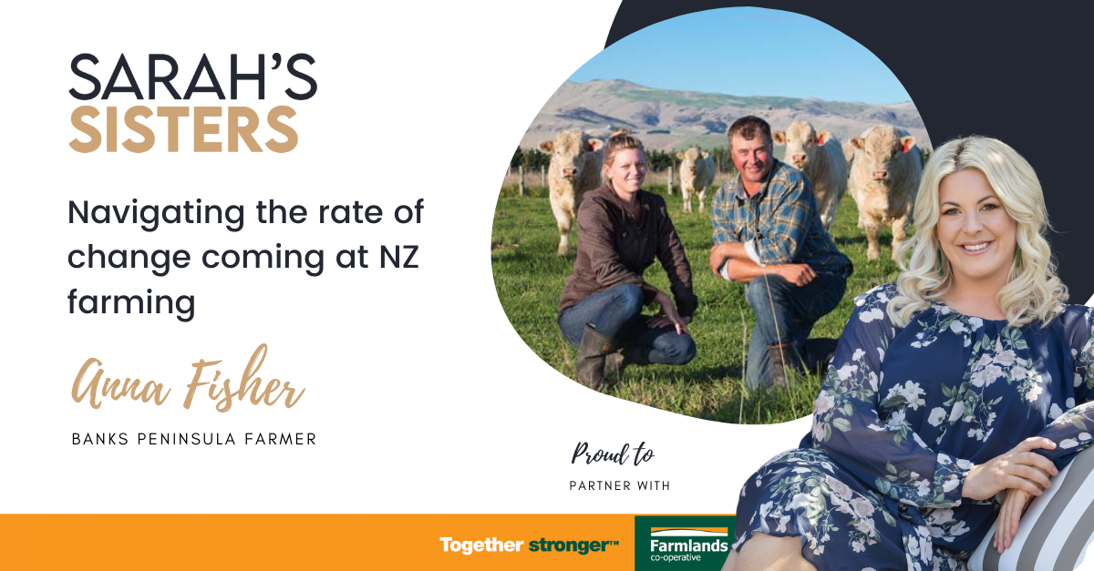 Navigating the rate of change coming at NZ farming